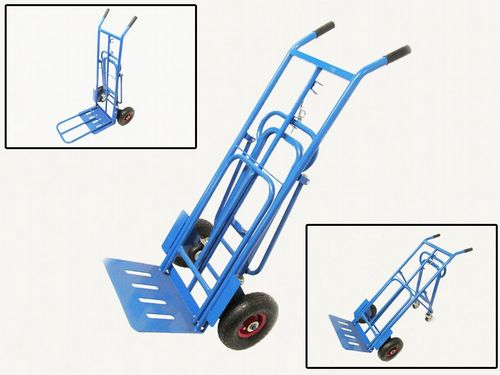 300kg Four Wheel Sack Truck - Multi Purpose Handling Manovering Versatile Transport Hand